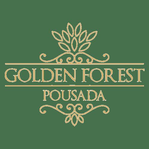 logo golden forest pousada aba